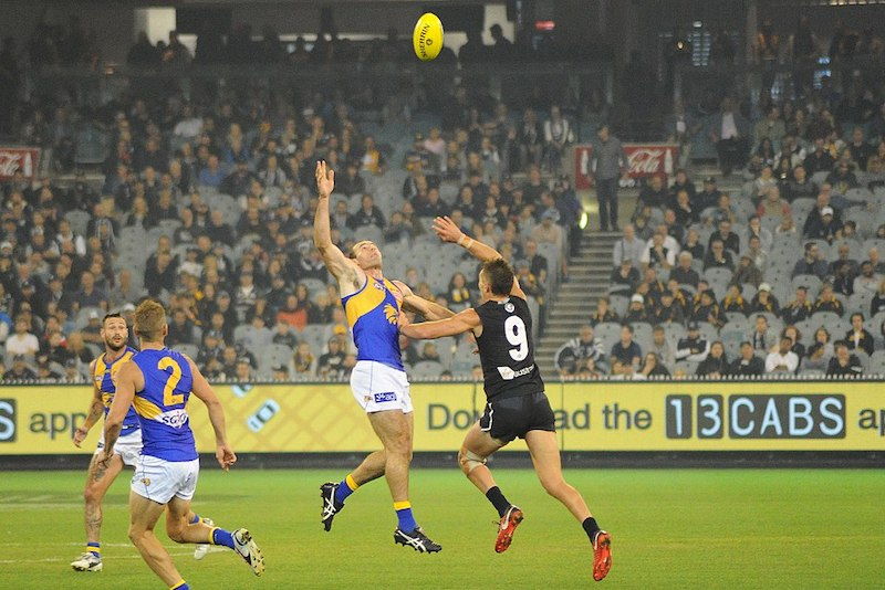 Featured Image By Flickerd // Shannon Hurn and Patrick Cripps contest during the AFL round five match between Carlton and West Coast on 21 April 2018 at the Melbourne Cricket Ground in Melbourne, Victoria.// (https://commons.wikimedia.org/wiki/File:Shannon_Hurn_and_Patrick_Cripps_contest.jpg) // CC BY-SA (https://creativecommons.org/licenses/by-sa/4.0)